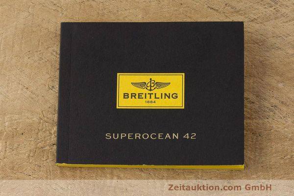 Used luxury watch Breitling Superocean steel automatic Kal. B17 ETA 2824-2 Ref. A17364  | 162354 13