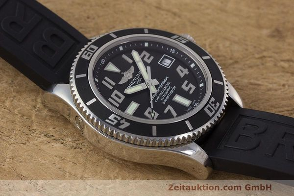 Used luxury watch Breitling Superocean steel automatic Kal. B17 ETA 2824-2 Ref. A17364  | 162354 16
