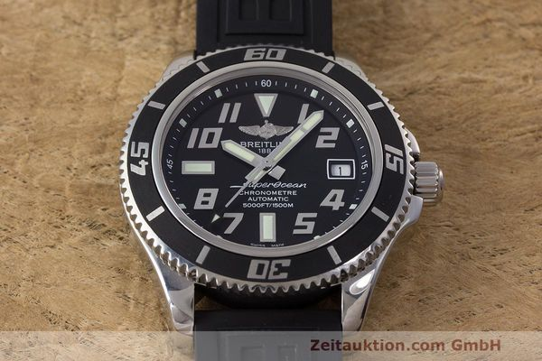 Used luxury watch Breitling Superocean steel automatic Kal. B17 ETA 2824-2 Ref. A17364  | 162354 17