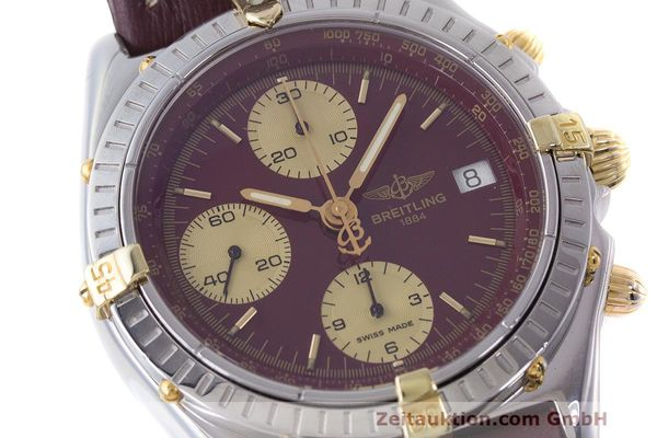 Used luxury watch Breitling Chronomat chronograph steel / gold automatic Kal. B13 ETA 7750 Ref. B13048  | 162356 02