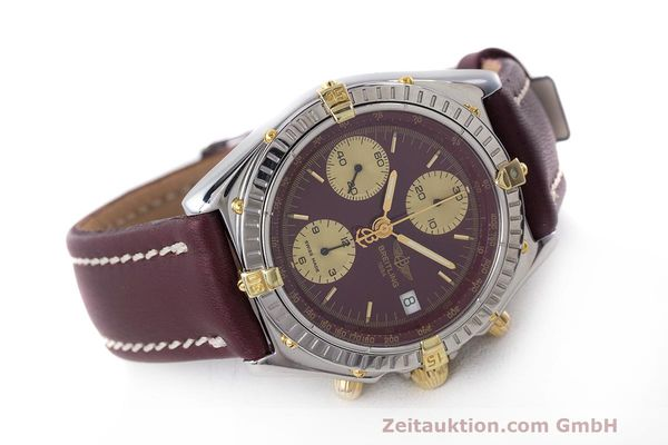 Used luxury watch Breitling Chronomat chronograph steel / gold automatic Kal. B13 ETA 7750 Ref. B13048  | 162356 03