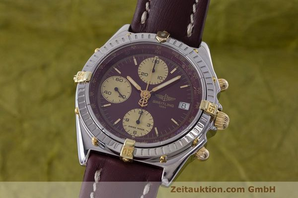 Used luxury watch Breitling Chronomat chronograph steel / gold automatic Kal. B13 ETA 7750 Ref. B13048  | 162356 04
