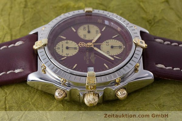 Used luxury watch Breitling Chronomat chronograph steel / gold automatic Kal. B13 ETA 7750 Ref. B13048  | 162356 05