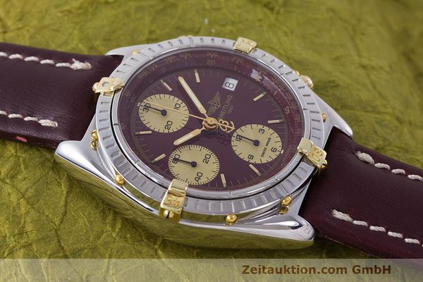 Used luxury watch Breitling Chronomat chronograph steel / gold automatic Kal. B13 ETA 7750 Ref. B13048  | 162356 13
