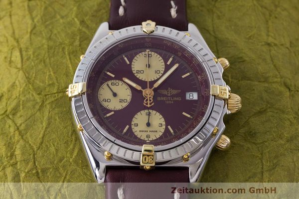 Used luxury watch Breitling Chronomat chronograph steel / gold automatic Kal. B13 ETA 7750 Ref. B13048  | 162356 14