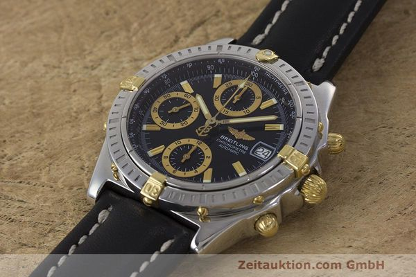 Used luxury watch Breitling Chronomat chronograph steel / gold automatic Kal. B13 ETA 7750 Ref. B13352  | 162357 01