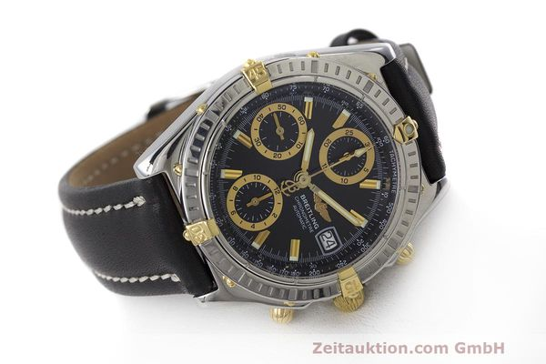 Used luxury watch Breitling Chronomat chronograph steel / gold automatic Kal. B13 ETA 7750 Ref. B13352  | 162357 03