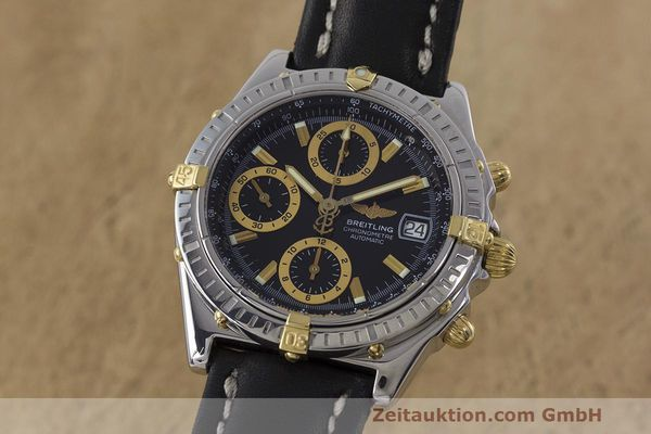 Used luxury watch Breitling Chronomat chronograph steel / gold automatic Kal. B13 ETA 7750 Ref. B13352  | 162357 04