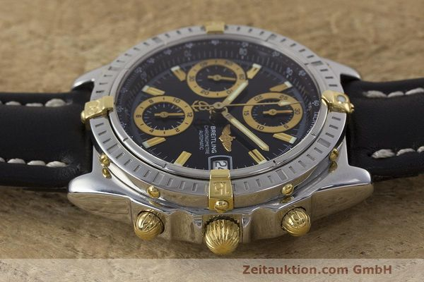 Used luxury watch Breitling Chronomat chronograph steel / gold automatic Kal. B13 ETA 7750 Ref. B13352  | 162357 05