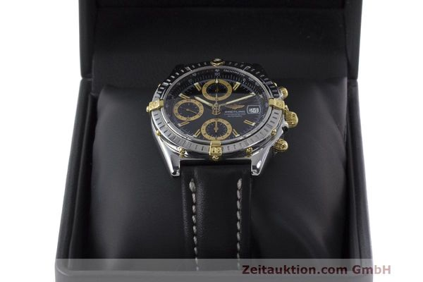 Used luxury watch Breitling Chronomat chronograph steel / gold automatic Kal. B13 ETA 7750 Ref. B13352  | 162357 07