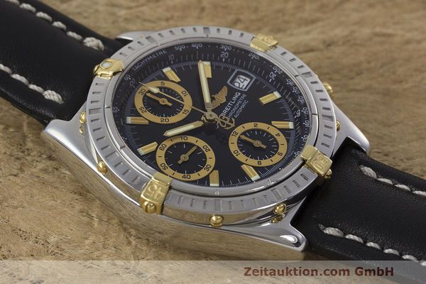 Used luxury watch Breitling Chronomat chronograph steel / gold automatic Kal. B13 ETA 7750 Ref. B13352  | 162357 12