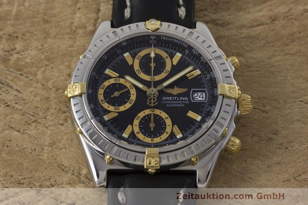 Used luxury watch Breitling Chronomat chronograph steel / gold automatic Kal. B13 ETA 7750 Ref. B13352  | 162357 13