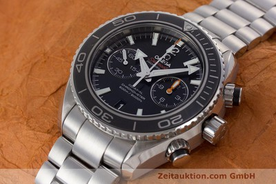 OMEGA SEAMASTER PLANET OCEAN CHRONOGRAPH CO-AXIAL STAHL GLASBODEN NP: 6500,- EUR [162367]