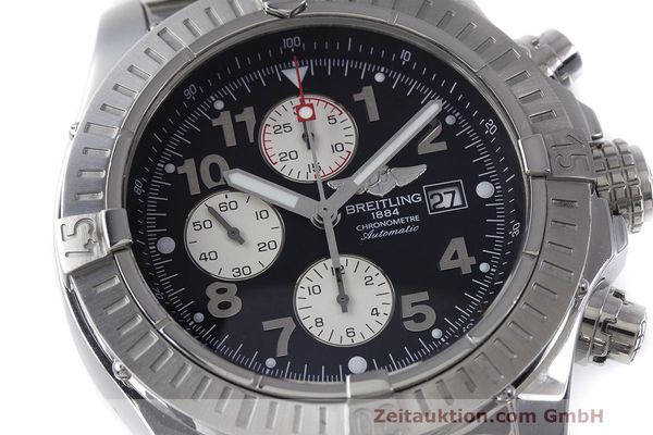Used luxury watch Breitling Avenger chronograph steel automatic Kal. B13 ETA 7750 Ref. A13370  | 162379 02