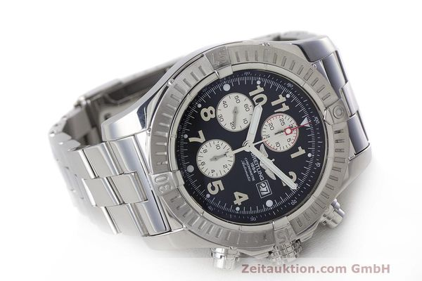 Used luxury watch Breitling Avenger chronograph steel automatic Kal. B13 ETA 7750 Ref. A13370  | 162379 03