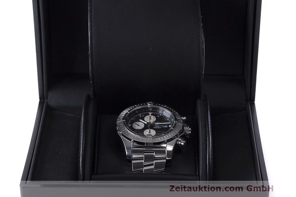 Used luxury watch Breitling Avenger chronograph steel automatic Kal. B13 ETA 7750 Ref. A13370  | 162379 07