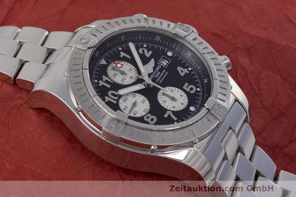 Used luxury watch Breitling Avenger chronograph steel automatic Kal. B13 ETA 7750 Ref. A13370  | 162379 17