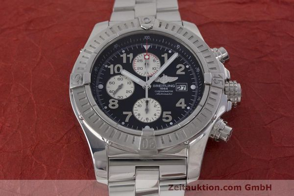 Used luxury watch Breitling Avenger chronograph steel automatic Kal. B13 ETA 7750 Ref. A13370  | 162379 18