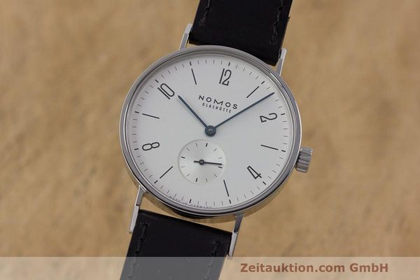 NOMOS TANGENTE STEEL MANUAL WINDING KAL. ETA 7001 LP: 1380EUR [162380]
