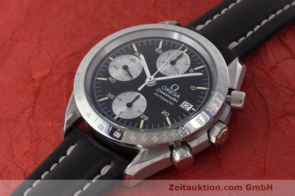 Used luxury watch Omega Speedmaster chronograph steel automatic Kal. 1155 ETA 7750 Ref. 1750043, 3750043  | 162386 01