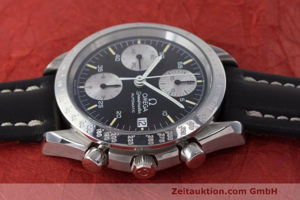 Used luxury watch Omega Speedmaster chronograph steel automatic Kal. 1155 ETA 7750 Ref. 1750043, 3750043  | 162386 05
