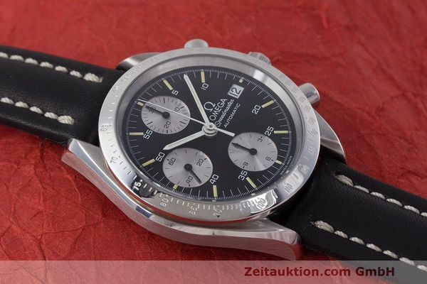 Used luxury watch Omega Speedmaster chronograph steel automatic Kal. 1155 ETA 7750 Ref. 1750043, 3750043  | 162386 14