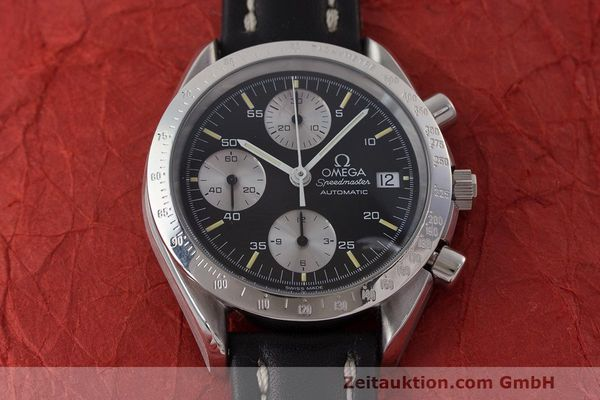 Used luxury watch Omega Speedmaster chronograph steel automatic Kal. 1155 ETA 7750 Ref. 1750043, 3750043  | 162386 15