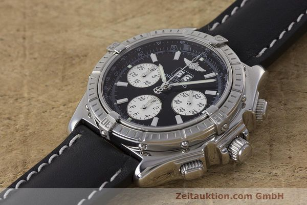 Used luxury watch Breitling Crosswind chronograph steel automatic Kal. B44 ETA 2892A2 Ref. A44355  | 162388 01