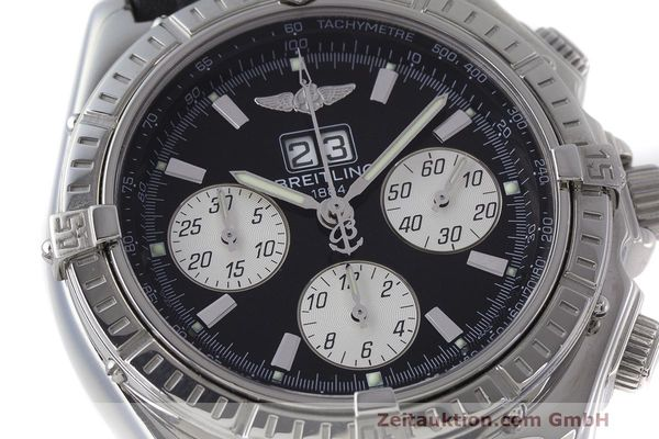 Used luxury watch Breitling Crosswind chronograph steel automatic Kal. B44 ETA 2892A2 Ref. A44355  | 162388 02