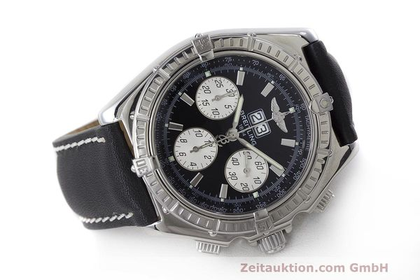 Used luxury watch Breitling Crosswind chronograph steel automatic Kal. B44 ETA 2892A2 Ref. A44355  | 162388 03
