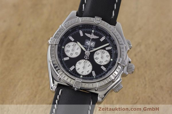 Used luxury watch Breitling Crosswind chronograph steel automatic Kal. B44 ETA 2892A2 Ref. A44355  | 162388 04