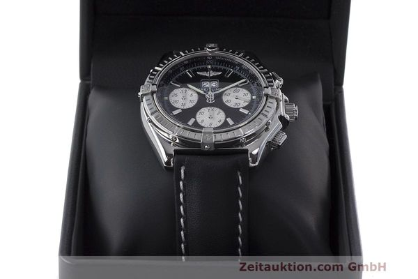 Used luxury watch Breitling Crosswind chronograph steel automatic Kal. B44 ETA 2892A2 Ref. A44355  | 162388 07