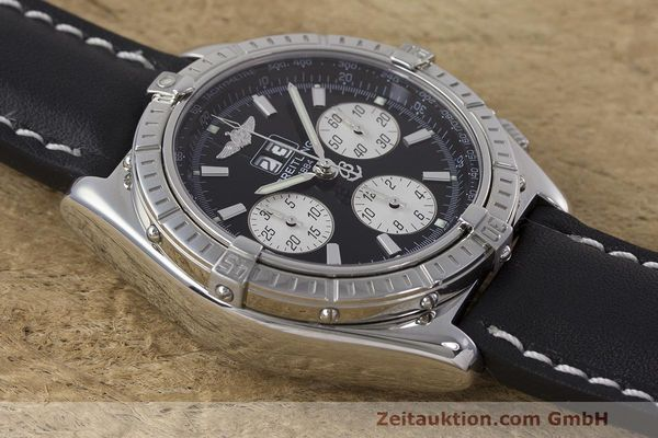 Used luxury watch Breitling Crosswind chronograph steel automatic Kal. B44 ETA 2892A2 Ref. A44355  | 162388 14