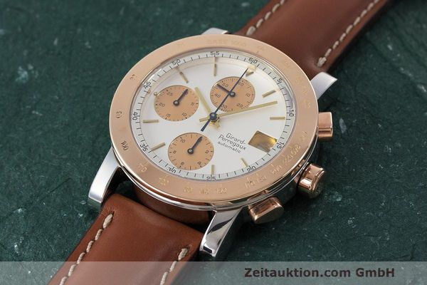 Used luxury watch Girard Perregaux 7000 chronograph steel / gold automatic Kal. 800-814 Ref. 7000  | 162392 01