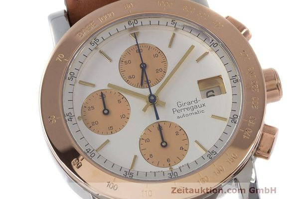 Used luxury watch Girard Perregaux 7000 chronograph steel / gold automatic Kal. 800-814 Ref. 7000  | 162392 02