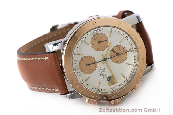 Used luxury watch Girard Perregaux 7000 chronograph steel / gold automatic Kal. 800-814 Ref. 7000  | 162392 03