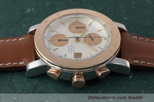 Used luxury watch Girard Perregaux 7000 chronograph steel / gold automatic Kal. 800-814 Ref. 7000  | 162392 05