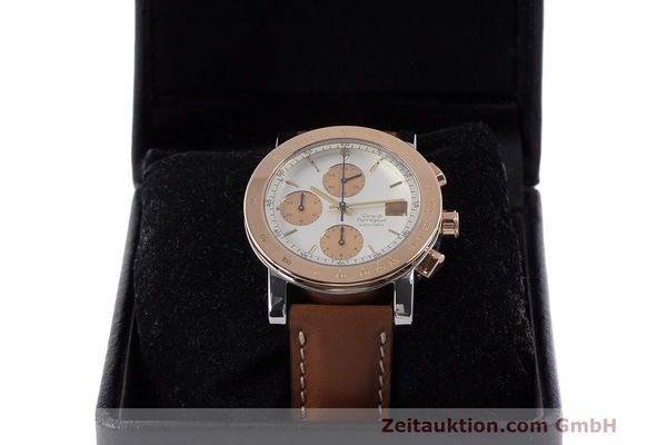 Used luxury watch Girard Perregaux 7000 chronograph steel / gold automatic Kal. 800-814 Ref. 7000  | 162392 07