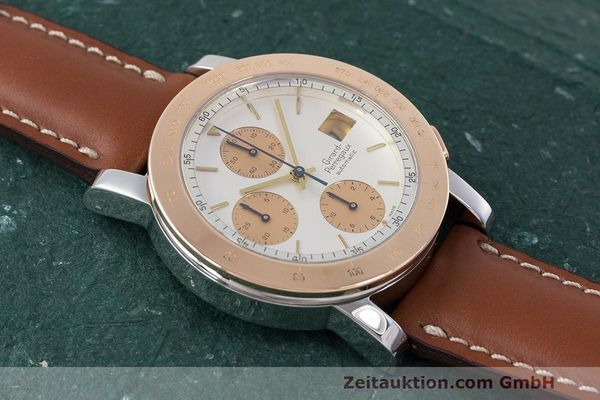 Used luxury watch Girard Perregaux 7000 chronograph steel / gold automatic Kal. 800-814 Ref. 7000  | 162392 12