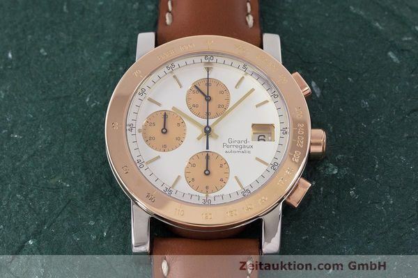 Used luxury watch Girard Perregaux 7000 chronograph steel / gold automatic Kal. 800-814 Ref. 7000  | 162392 13