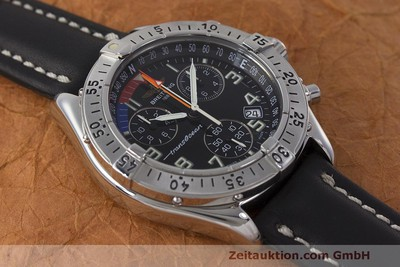 BREITLING TRANSOCEAN YACHTING SHARK CHRONOGRAPH HERRENUHR A53040.1 VP: 2740,- Euro [162393]