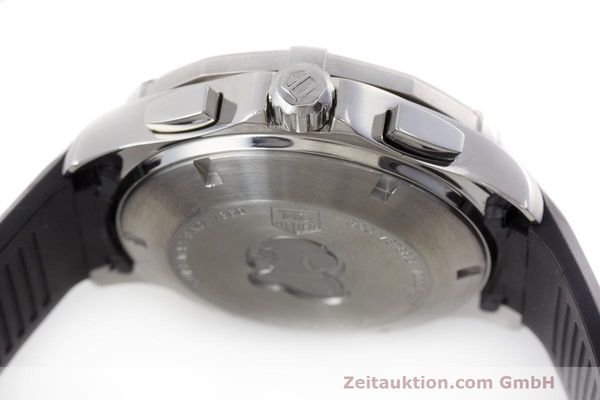 Used luxury watch Tag Heuer Aquaracer chronograph steel automatic Kal. 16 ETA 7750 Ref. CAP2110  | 162395 08