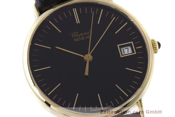 Used luxury watch Chopard * 18 ct gold quartz Kal. ETA 450.111 Ref. 1074  | 162396 02