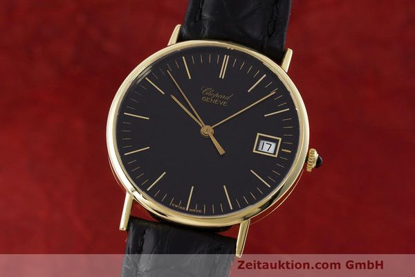 Used luxury watch Chopard * 18 ct gold quartz Kal. ETA 450.111 Ref. 1074  | 162396 04