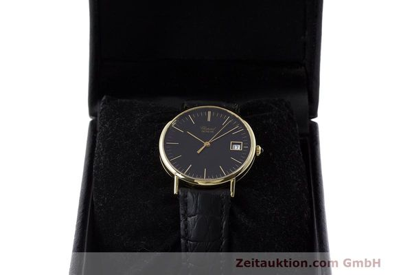 Used luxury watch Chopard * 18 ct gold quartz Kal. ETA 450.111 Ref. 1074  | 162396 07