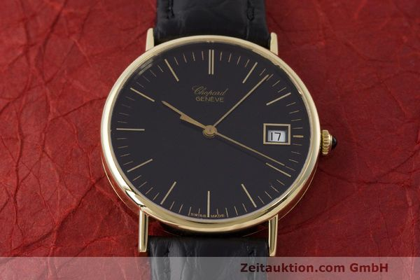Used luxury watch Chopard * 18 ct gold quartz Kal. ETA 450.111 Ref. 1074  | 162396 13