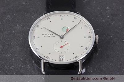NOMOS METRO STEEL MANUAL WINDING KAL. DUW 4401 LP: 2880EUR [162397]