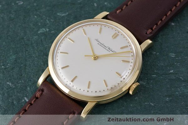 Used luxury watch IWC Portofino 18 ct gold manual winding Kal. 402 Ref. 1405 VINTAGE  | 162401 01