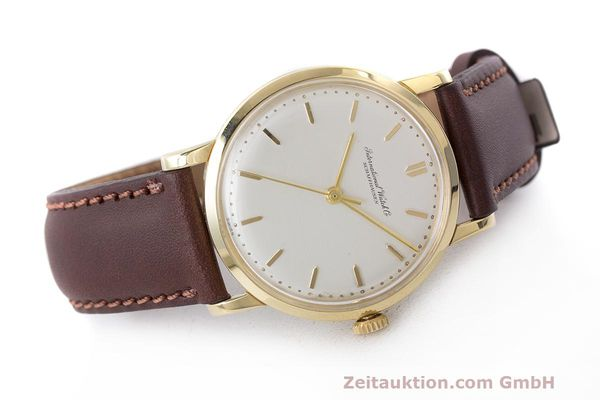 Used luxury watch IWC Portofino 18 ct gold manual winding Kal. 402 Ref. 1405 VINTAGE  | 162401 03