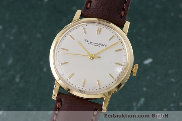 Used luxury watch IWC Portofino 18 ct gold manual winding Kal. 402 Ref. 1405 VINTAGE  | 162401 04